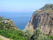 De vallei diepe kloof fethiye Turkije van de vlinder Royalty-vrije Stock Foto's