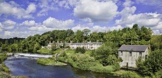 De vallei en de rivier van Liffey Stock Afbeeldingen