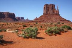 De Vallei NP, Arizona van het monument Stock Afbeelding