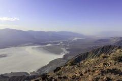 De Vallei Salt Lake van de dood Stock Afbeelding