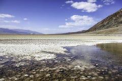 De Vallei Salt Lake van de dood Royalty-vrije Stock Afbeeldingen