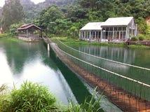 De Vallei Toneelgebied van Ziyunzhaoqing, de Provincie van Guangdong Stock Foto's