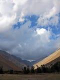 De Vallei of Valle del Elqui van Elqui Royalty-vrije Stock Fotografie