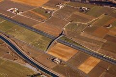 De Vallei van Adige van het overzicht - Italië Royalty-vrije Stock Afbeeldingen