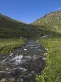 De vallei van Andorra stock foto