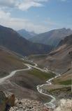 De Vallei van Barskoon, Kyrgyzstan Royalty-vrije Stock Foto's