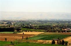 De Vallei van Bekaa, Libanon stock foto's