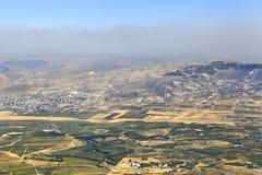 De Vallei van Beqaa, Libanon royalty-vrije stock foto's