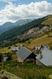 De vallei van Champsaur royalty-vrije stock afbeeldingen