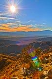 De Vallei van Coachella royalty-vrije stock foto