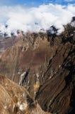 De Vallei van Colca, Peru Stock Afbeeldingen