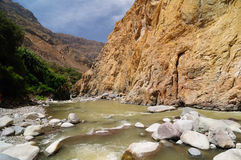 De Vallei van Colca, Peru Stock Afbeelding