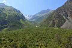 De vallei van de berg Royalty-vrije Stock Fotografie