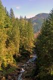De vallei van de berg Royalty-vrije Stock Afbeeldingen