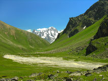 De vallei van de berg Stock Afbeelding
