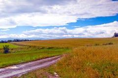 De vallei van de Bobrrivier, Lager Silesië, Polen Royalty-vrije Stock Foto's