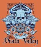 De vallei van de dood Royalty-vrije Stock Foto