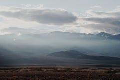 De vallei van de dood Stock Fotografie