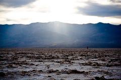 De vallei van de dood Stock Afbeelding