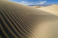 De Vallei van de Dood van de Duinen van het zand royalty-vrije stock foto's