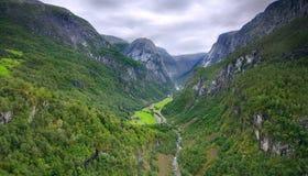 De vallei van de droom Stock Fotografie
