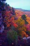 De vallei van de herfst Royalty-vrije Stock Foto