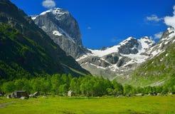De vallei van de Kaukasus Royalty-vrije Stock Foto