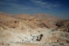 De vallei van de Koningen in Egypte Royalty-vrije Stock Afbeelding