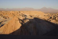 De vallei van de maan, Chili Royalty-vrije Stock Foto's