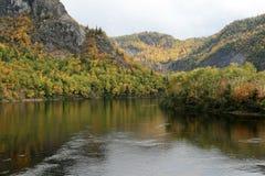 De Vallei van de rivier Stock Afbeeldingen