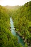 De vallei van de rivier Royalty-vrije Stock Afbeeldingen