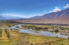 De vallei van de rivier Royalty-vrije Stock Fotografie