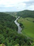 De vallei van de rivier Royalty-vrije Stock Afbeelding