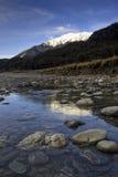 De vallei van de rivier, Nieuw Zeeland Royalty-vrije Stock Afbeeldingen