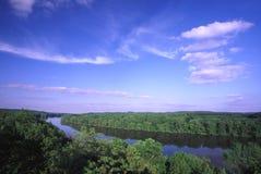 De Vallei van de Rivier van de rots - Illinois Stock Foto's