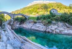 De Vallei van de Rivier van Verzasca, Zwitserland II Royalty-vrije Stock Fotografie