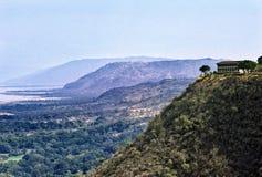 De vallei van de spleet Stock Foto