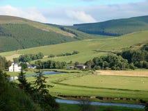 De vallei van de tweed Royalty-vrije Stock Afbeeldingen