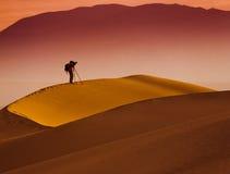 De Vallei van de woestijndood Stock Foto