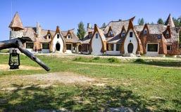 De Vallei van de Feeën, Roemenië Stock Afbeeldingen