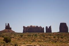 De Vallei van het monument Royalty-vrije Stock Foto