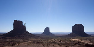 De Vallei van het monument Stock Afbeelding