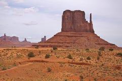 De vallei van het monument Royalty-vrije Stock Afbeeldingen
