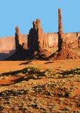 De Vallei van het monument Royalty-vrije Stock Afbeelding