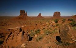 De vallei van het monument Royalty-vrije Stock Foto's