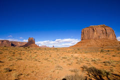 De Vallei van het monument in Arizona Stock Fotografie