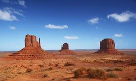 De Vallei van het monument in Arizona stock foto