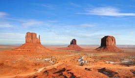 De Vallei van het monument, Arizona Stock Foto's