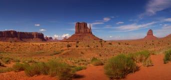 De Vallei van het monument - de V.S. Stock Foto's