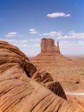 De vallei van het monument, de V.S. royalty-vrije stock afbeeldingen